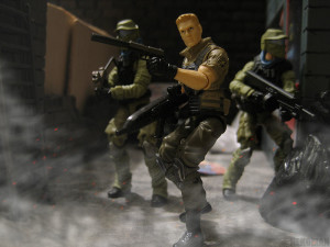 GIJoe POC Duke PursuitofCobra JoeTrooper Retaliation Diorama dio photo