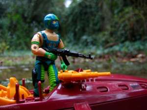 1984 Vintage action figure GI Joe Cobra Hasbro Piranha