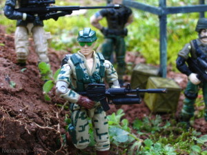 Recoil Duke Rampart GI Joe 1989 1990 ARAH ARAHC vintage hasbro action figure