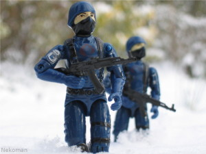 Cobra Trooper The Enemy Hasbro GI Joe