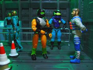 GI Joe Blackstar Star Brigade 1994 arah Hasbro toy