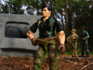 Hasbro Gijoe ARAH Flint parts funskool action figure
