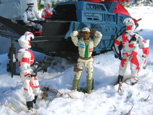 gi joe arah hasbro stalker arctic commandos Alley Viper custom bootleg Hiss II 2 Night Stalker mail away battle corps