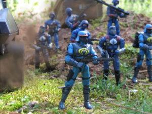 Valor vs Venom Gi joe vs Cobra Spy Troops Neo Viper V6 2003